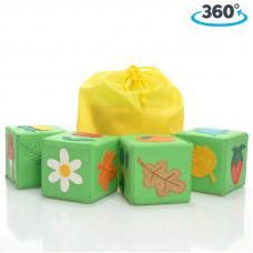 """Кубики """"Растительный мир"""" №2"""