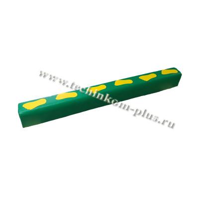 Бревно гимнастическое мягкое со следочками 1,5м