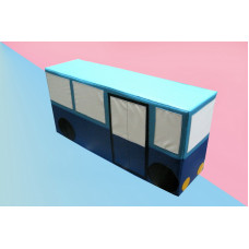 Автобус, мягкий напольный модуль