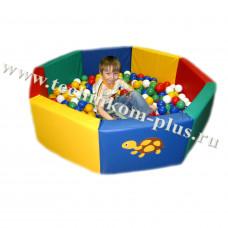 """Детский сухой бассейн """"Восьмигранный"""""""