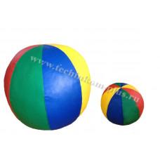 Мяч мягконабивной сенсорный Лепесток d-20,25,30,35,75см