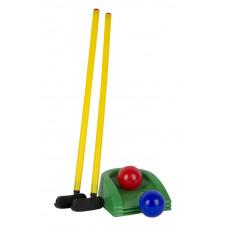 Игра «Мини - гольф» (клюшка 2шт.,лунка 3шт.,шар 2шт.)