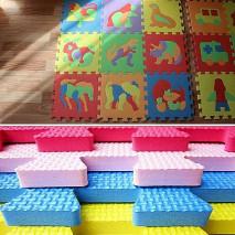 Мягкие напольные покрытия (мягкий пол) в детскую
