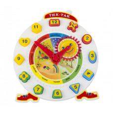 """Познавательно-развивающая игра """"Тик-Так"""" с 12 логическими фигурами"""